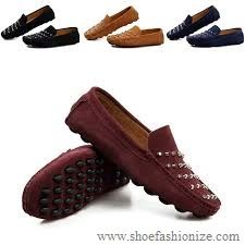 Shoefashionize New Arrival Loafer Shoes Trendy Leather Men Shoes Casual Driving Shoes. #shoefashionize.com #shoefashionize