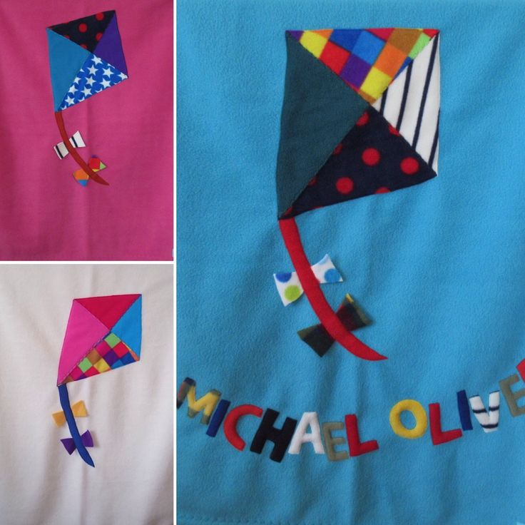 Flying kites on baby blankets. Windy day Achill Island