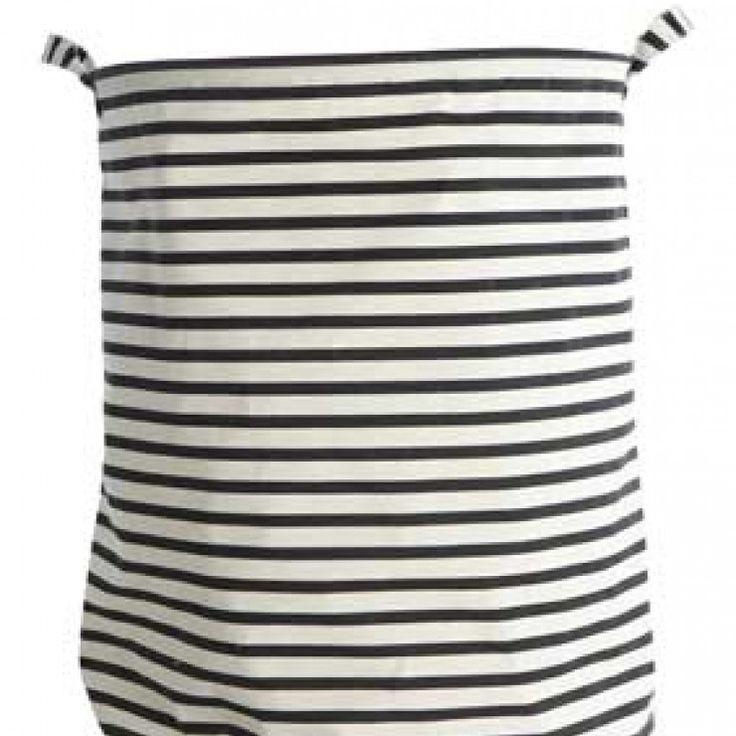 Design Vintage | Striped Laundry Bag | House Doctor | Storage Bag