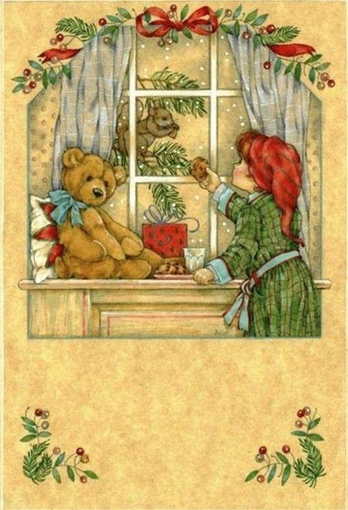 Les 74 Meilleures Images Du Tableau Cartes Noel Anciennes