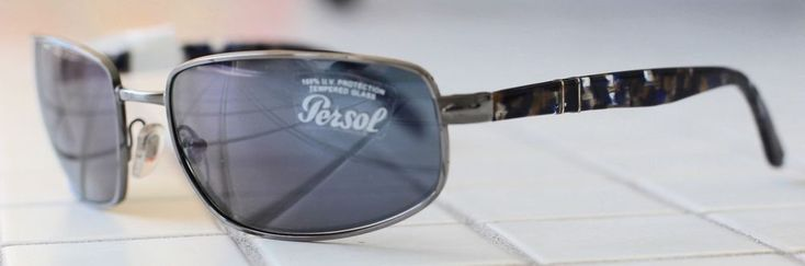 1d86db333ef PERSOL Mens Sunglasses or Women 2369-S 920 56 NEW AUTHENTIC PERSOL 61MM