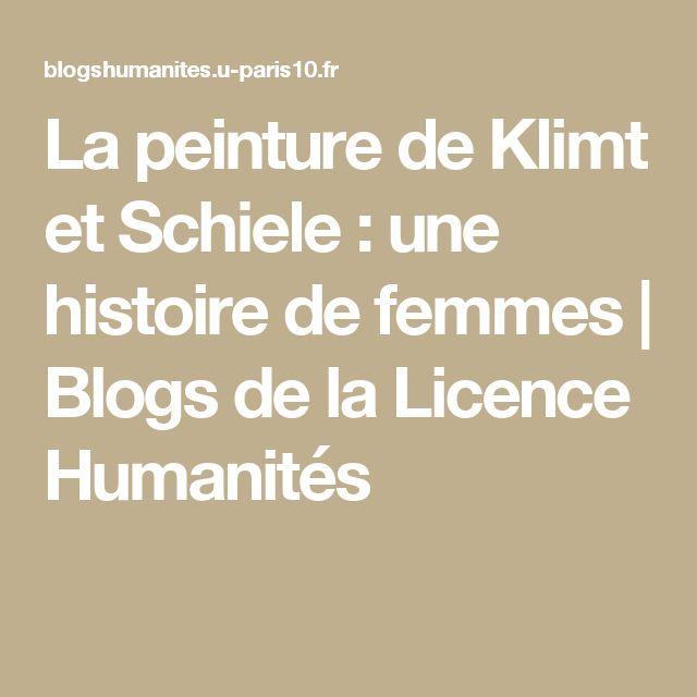 La peinture de Klimt et Schiele : une histoire de femmes | Blogs de la Licence Humanités