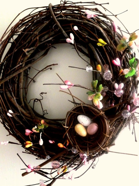 Spring Whimsical Wreath