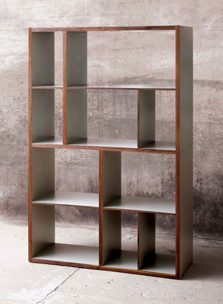Asymmetrical Bookshelves Room Devider   Google Search