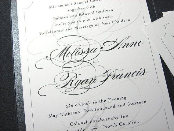 Traditional Elegant Wedding Invitations: Best 25+ Traditional Wedding Invitations Ideas On