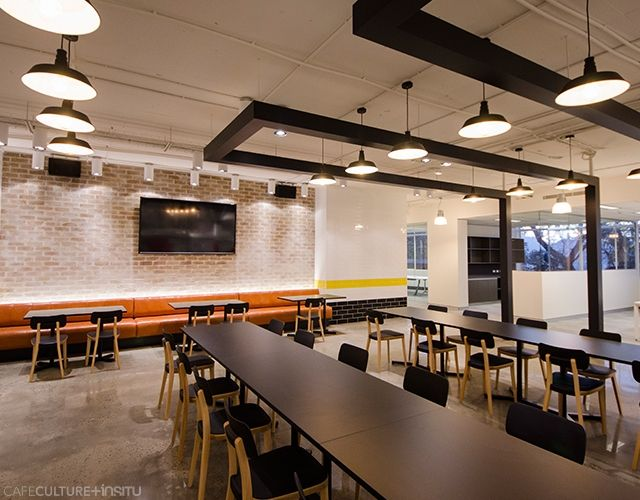 The BBC Worldwide Australia workplace that was fitted out by the Powerhouse Group features the Porta Venezia chairs by Infiniti, Bold Twin and Bold table bases by Pedrali with custom laminate table tops, all supplied by Cafe Culture + Insitu.