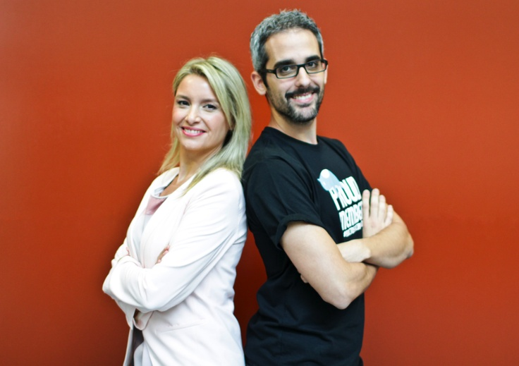 Los presentadores, Patricia Pastor y Raúl Salazar  Foto Kiko Llorens