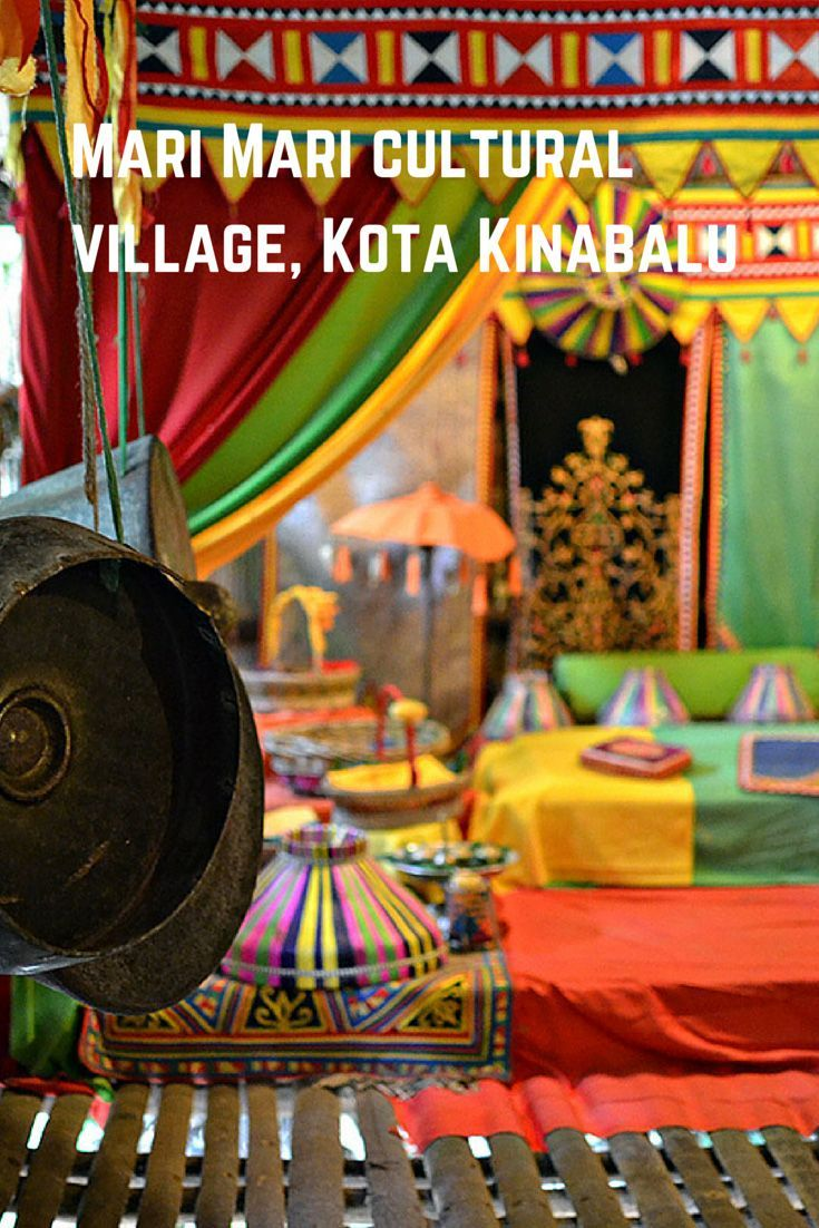 Mar Mari Cultural Village in Kota Kinabalu is like Mini-Borneo. Great attraction for all ages!