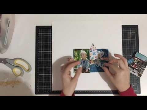 Kitaholic Kits - June Kits - 12x12 Scrapbooking Proess Video with Rachel
