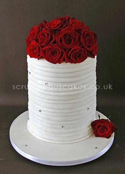 Vase Wedding Cake By PJScrumptiousCakes