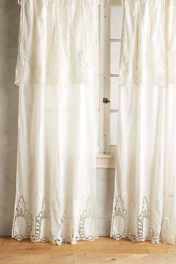 Best 25 Lace Curtains Ideas On Pinterest Shabby Chic