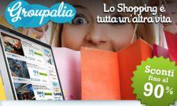 Groupalia offre sconti fino al 90% su moltissimi prodotti. Scopri quelli della tua città.