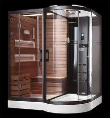 sauna/shower...best of both worlds