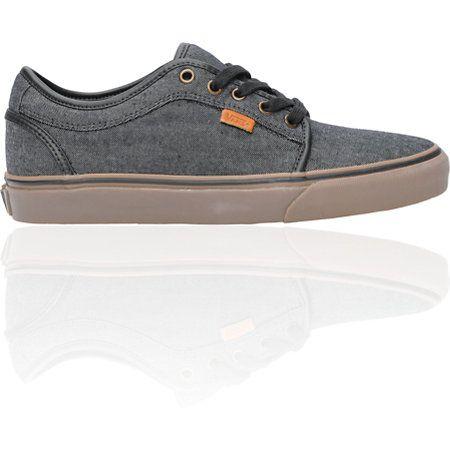Vans Chukka Low Black Canvas & Gum Shoe