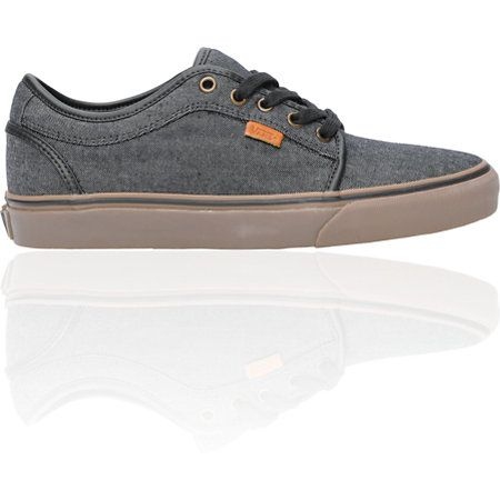 The original Vans Chukka Low is being reinvented with customized colorways and materials. This Zumiez Exclusive from Vans has all of the classic Chukka Low skate shoe features packaged in a slick black denim chambray canvas upper with leather accents and gum sole. A Zumiez Exclusive Shoe! Vans Chukka Lows