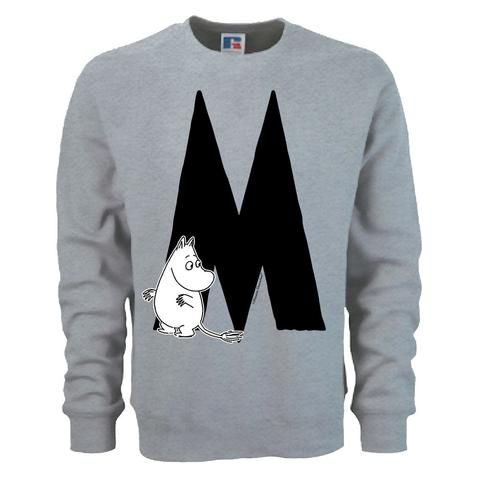 Moomin Alphabet sweatshirt  - M as in Moomintroll