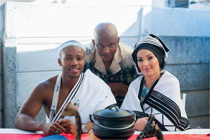 Xhosa Wedding Couple South Africa