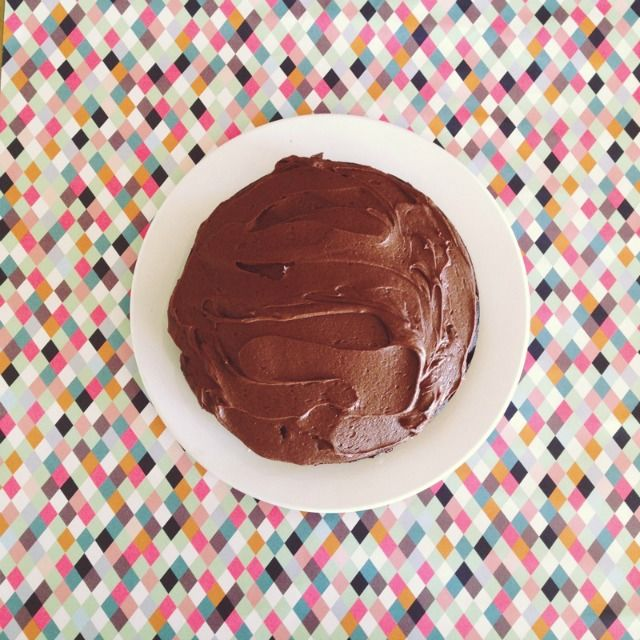 Nigella Lawson's Old Fashioned Chocolate Cake {so good!}