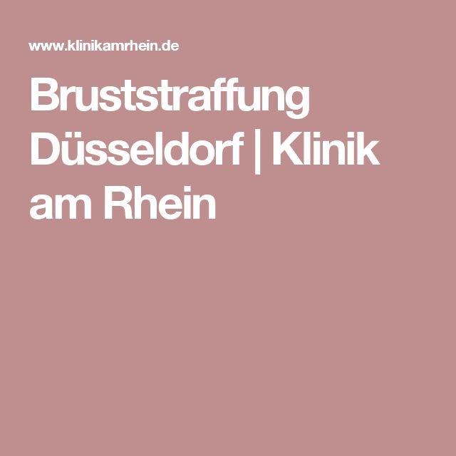 Bruststraffung Düsseldorf | Klinik am Rhein
