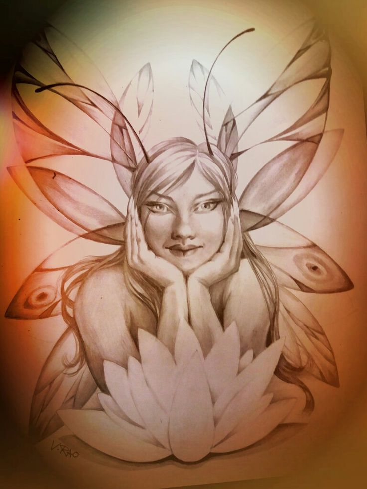 Fata disegno Vera Rao