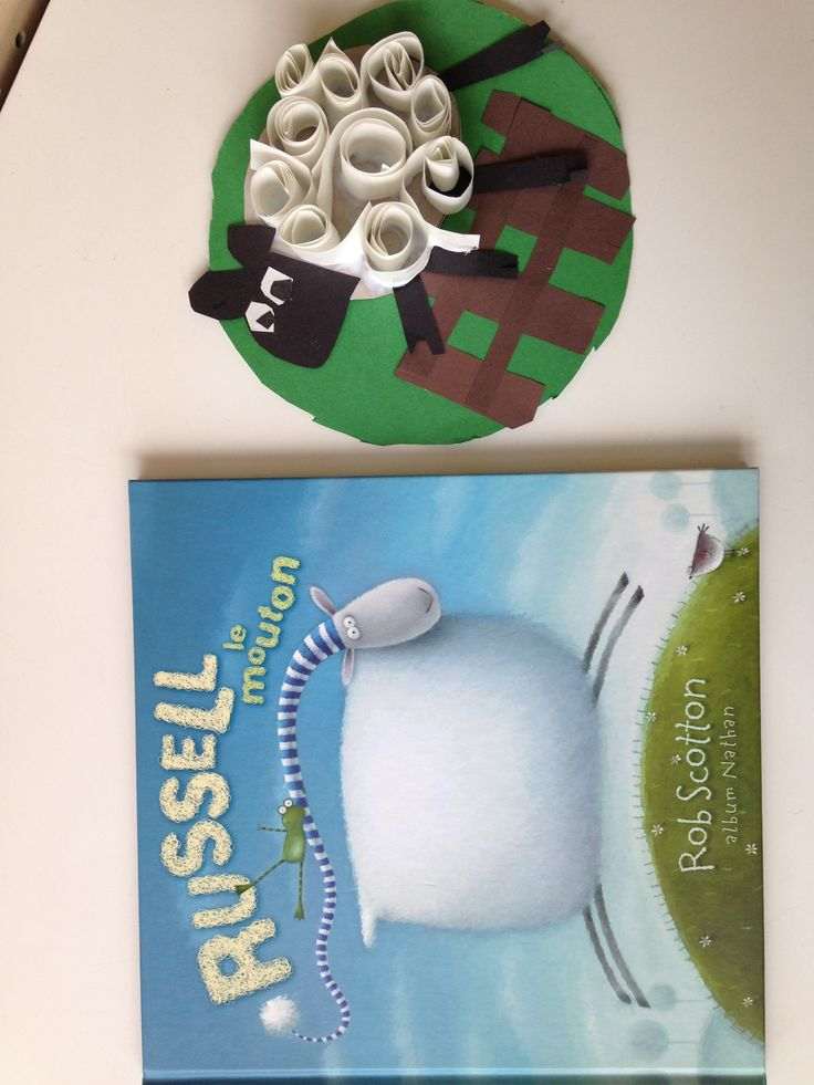 mouton arts bricolage craft sheep Russell