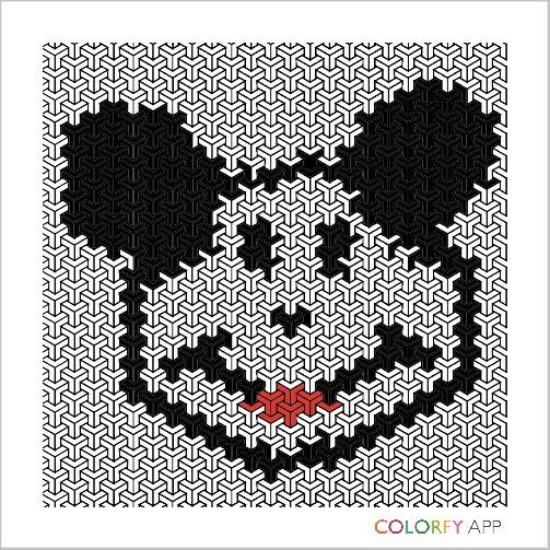 Can u find mickey in this pict?haha >< an abstract mickey,i guess