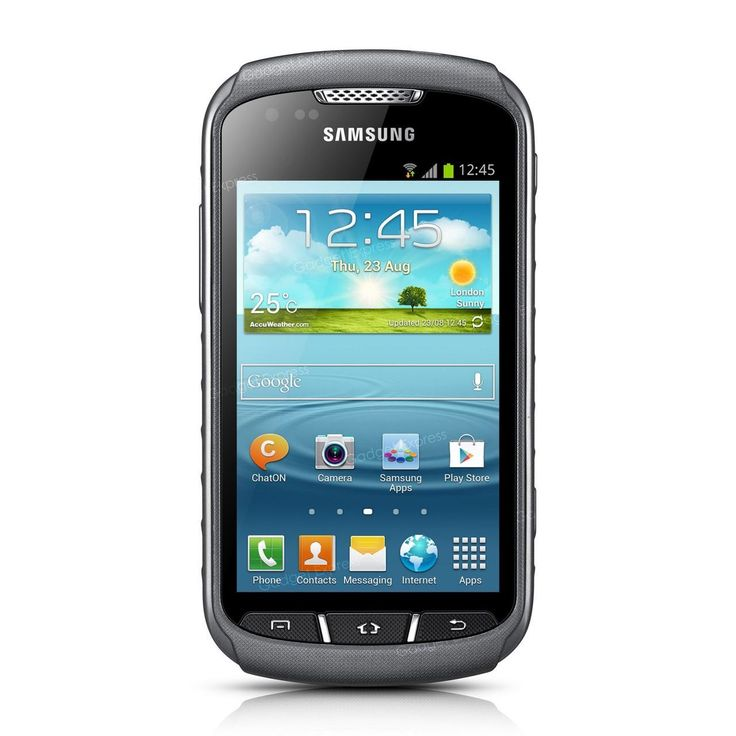 Samsung Galaxy Xcover 2 S7710 - Its tough, waterproof and and touchscreen. Great for the adventurer!