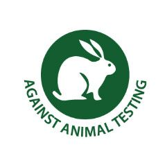 We are proud to be 'Against Animal Testing'