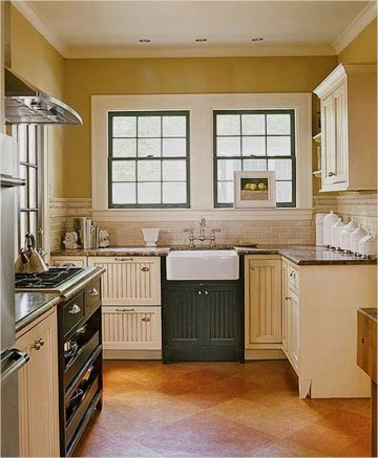 45 Perfect Farmhouse Small Kitchen Ideas 73 Cheap But Ni