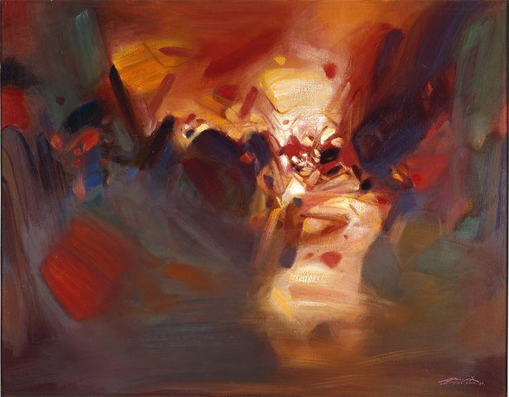 chu teh-chun art | Chu Teh-Chun à la Pinacothèque de Paris : l'abstraction venue de l ...