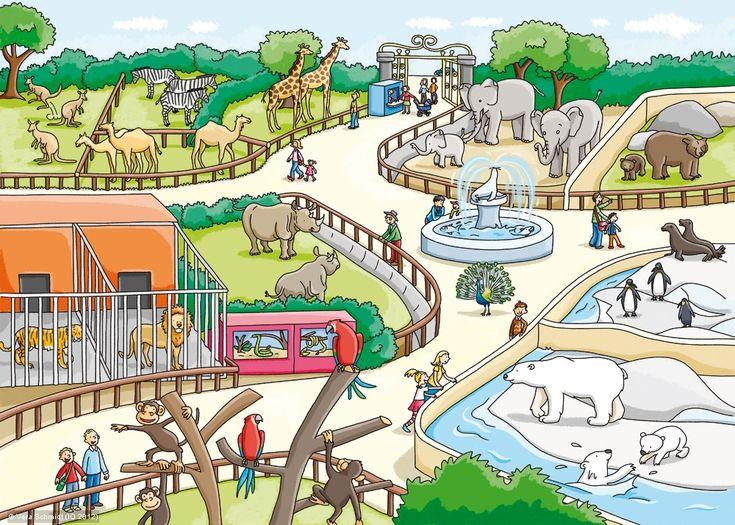 Thema dierentuin / zoo : praatplaat