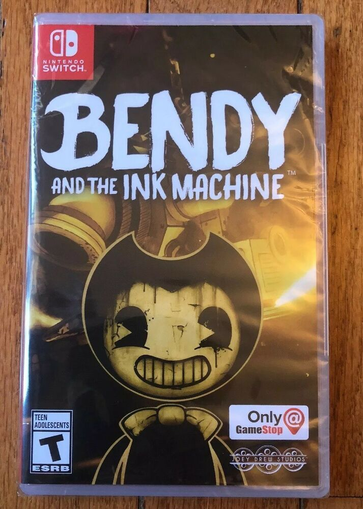 Bendy And The Ink Machine Nintendo Switch 2018 New Sealed With