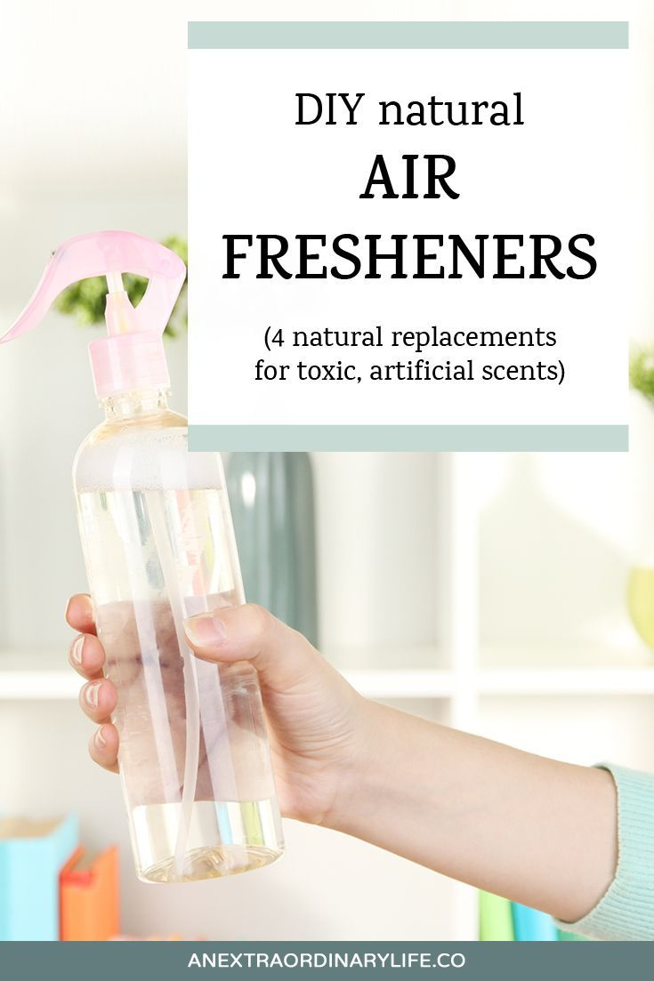 Did you know that artificial air fresheners have been linked to lung infections, eczema, depression, diarrhea and vomiting, and headaches? Crazy, right? Click to read why you should get rid of your candles, wax warmers, and scented plug-ins, and 4 DIY natural air fresheners you can use instead. PLUS there's a free download with 35+ essential oil combos to use to keep your house smelly yummy and fresh!