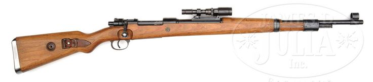 Mauser Karabiner 98 kurz bolt-action rifle, fitted... - Gun & Fez & Waffle