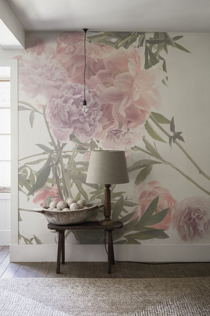 'Spring Loosely' Mural - Trunk Archive Collection from £65 | Shop Canvases & bespoke Wall Murals at surfaceview.co.uk