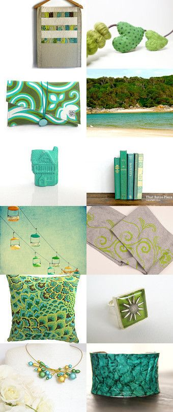 Teal Dreaming by Ruthie Gray on Etsy--Pinned+with+TreasuryPin.com