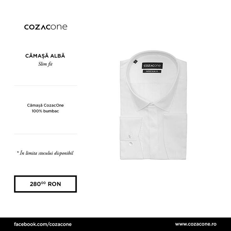 Cămașa albă, cea de toate zilele - atunci când găsești una care îți vine impecabil, cumpără cel puțin 5 bucăți. Încearc-o pe aceasta: http://www.cozacone.ro/produse/detalii/camasa-alba-3/