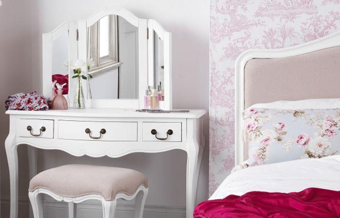 masa de toaleta Decor cu mobilier shabby chic pentru casa ta