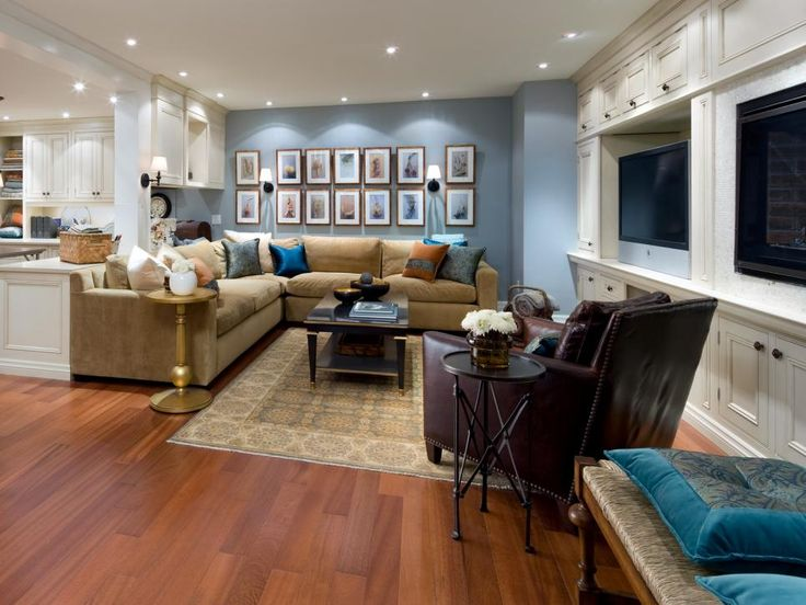 Designer Candice Olson has mastered adding function to the most underused space of your home: the basement. See how she transforms with stunning color palettes, cozy furnishings and smart layouts.