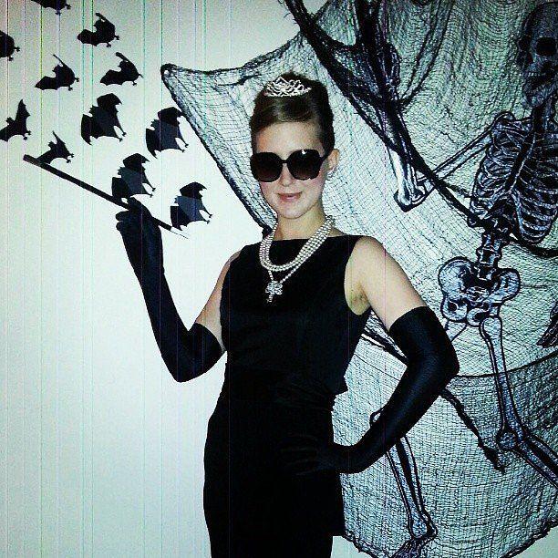 audrey hepburn halloween pinterest diy kost me halloween kost me und halloween. Black Bedroom Furniture Sets. Home Design Ideas