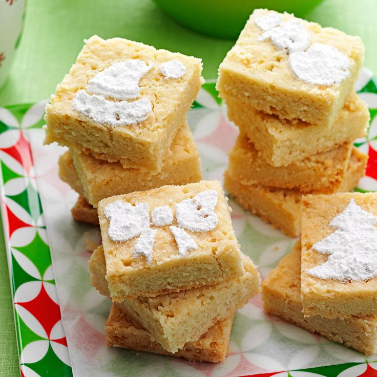 Holiday Shortbread Cookies Recipe -This special Christmas treat came to me from Scotland through a relative. I compared this recipe with one a friend makes, since her husband is of Scottish descent, and found this shortbread to be quite authentic. —Erma Hiltpold, Kerrville, Texas