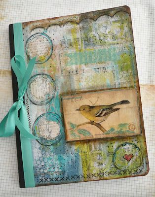 Dream, Create, Inspire: Altered Journal Swap - Part Two