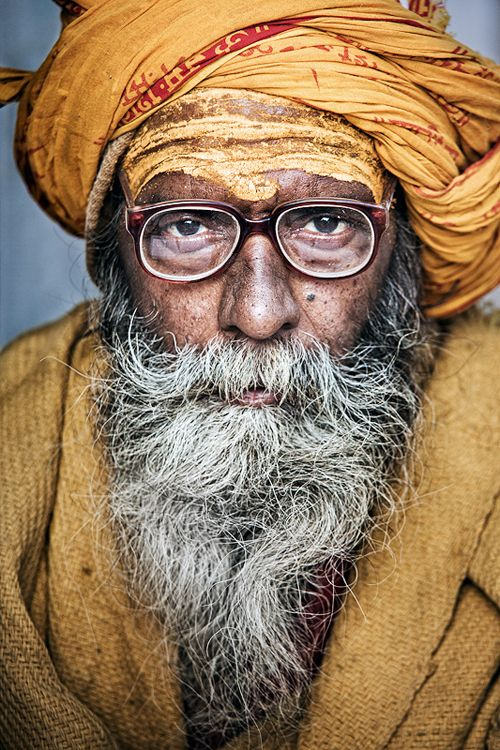 Travel Asian people Indian Baba by Alexander Gubin