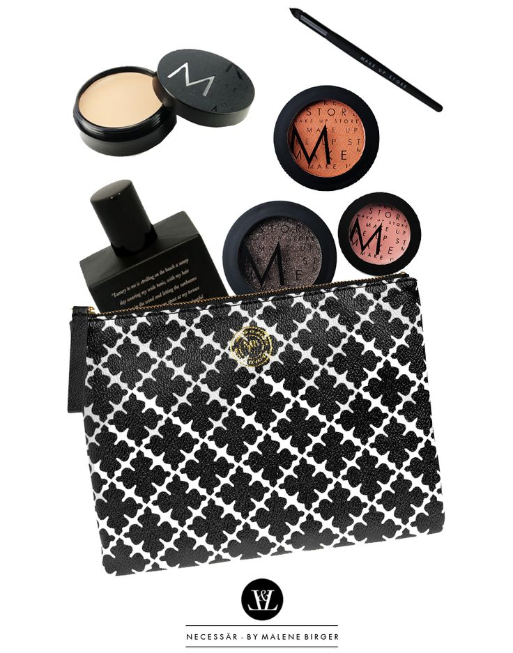 Make up and By Marlene Birger clutch.