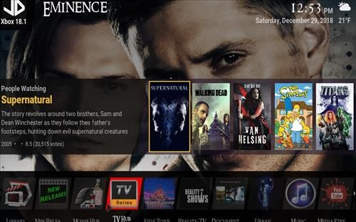 How to Install Eminence Build Kodi 18 Leia | Kodi | Sam
