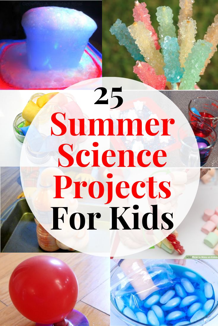 25 Summer Science Activities For Kids – Bonnie