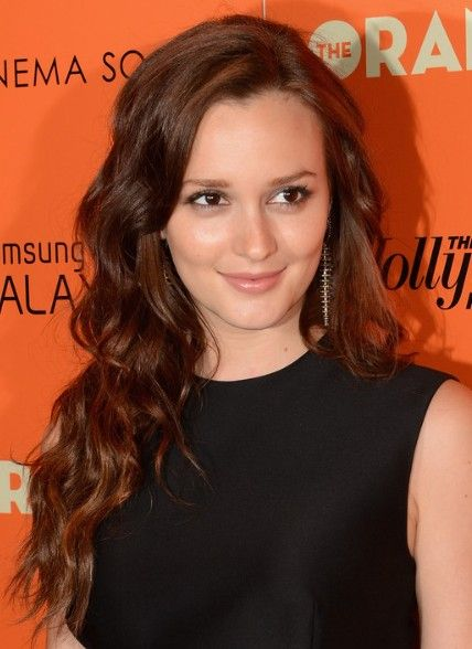 Leighton Meester Loose Curls Hairstyles for Long Hair 2013
