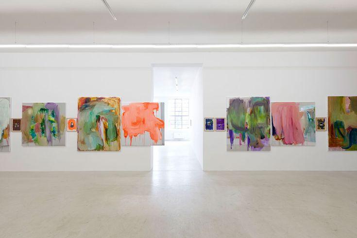 Peter Bonde Art at Andersens Contemporary | http://www.yellowtrace.com.au/peter-bonde-mirror-foil-paintings/