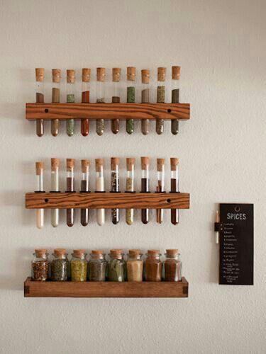 Un especiero muy original #decoracion #cocina #hogar (Diy Muebles Palets)