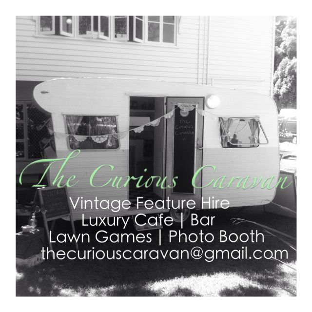 Brisbane Caravan Hire - luxury coffee bar - lawn games - vintage bar - photo booth. #Brisbane #coffeevan #photobooth #vintagehire #lawngames #wedding #party #events. Email: thecuriouscaravan@gmail.com